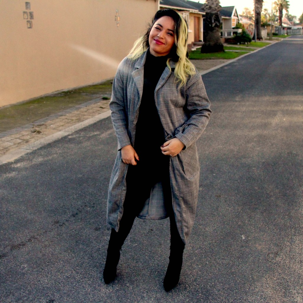 Check Trench Coat :This winter's must – have item